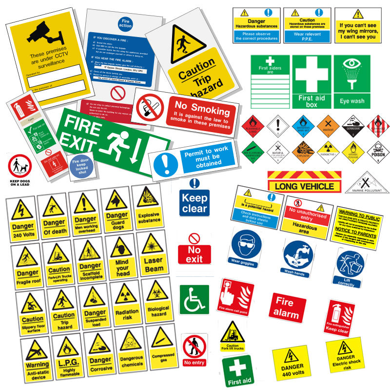 How Can Signage Help Reduce The Extent Of Risks 5blog